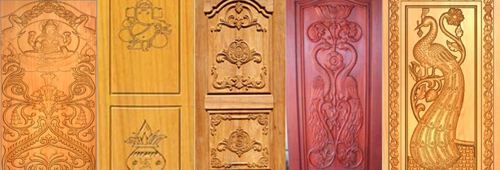 Pics for indian main door design for Front double door designs indian houses